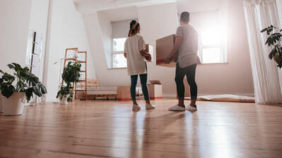 Moving into a home