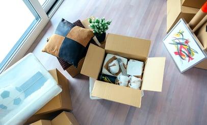 Organizing a room