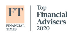 Honored in 2020 Financial Times 401(k) Top Retirement Advisers List
