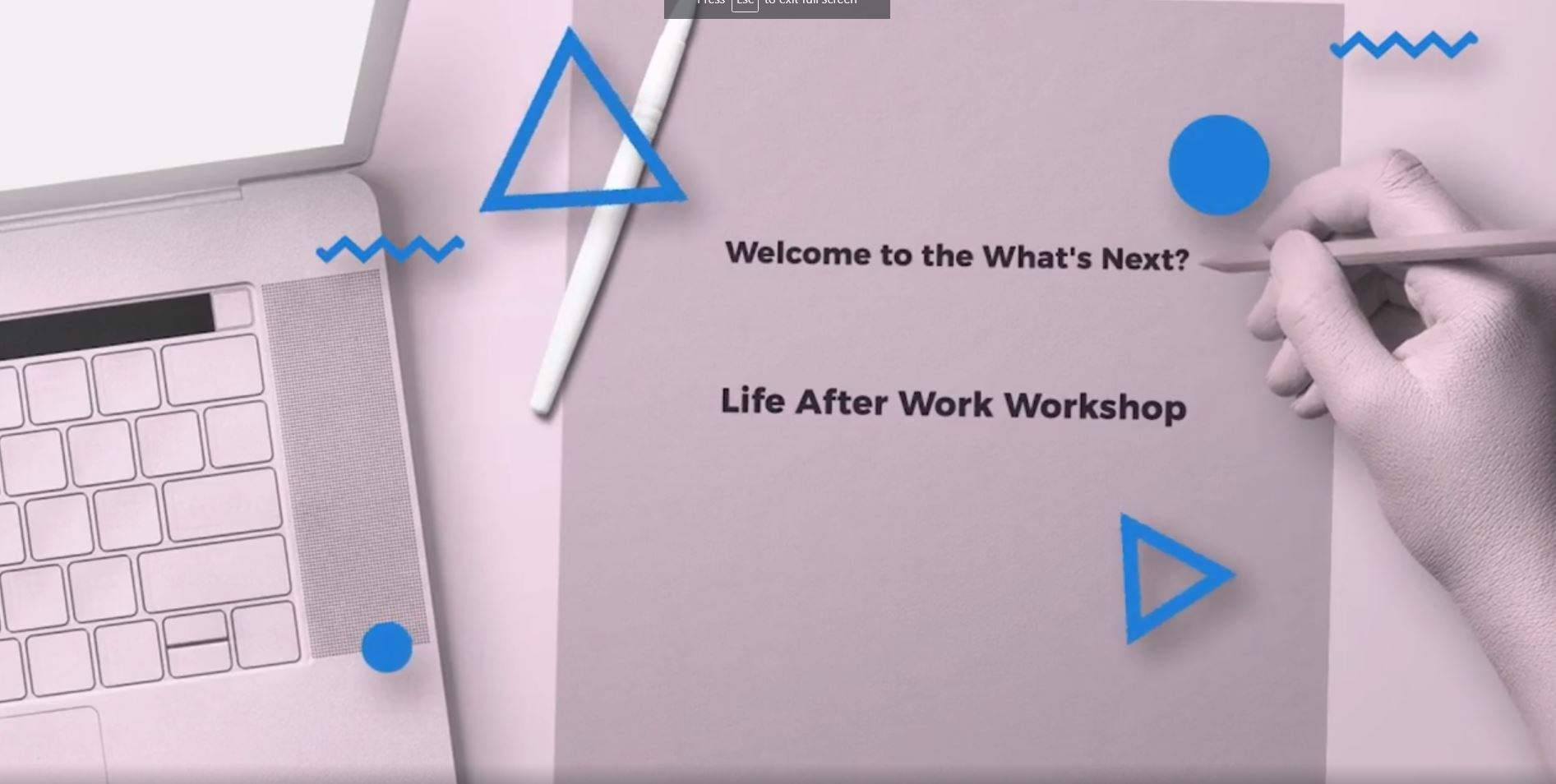MoneyNav Academy Worksop: What's Next? Life After Work Workshop